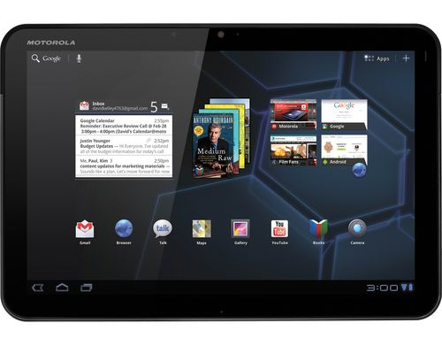 Wi Fi Motorola Xoom Gets A Taste Of Ice Cream