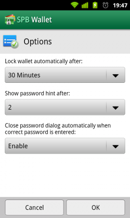 SPB Wallet for Android