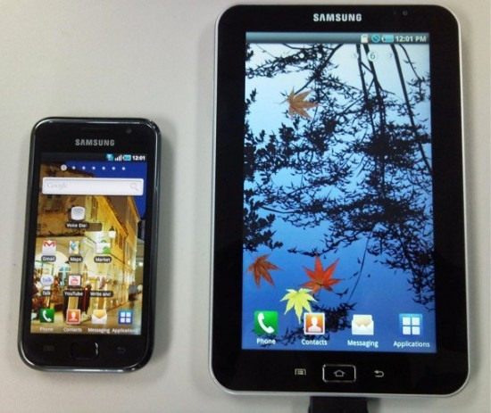 Samsung Galaxy S and Tab getting Gingerbread goodness this month