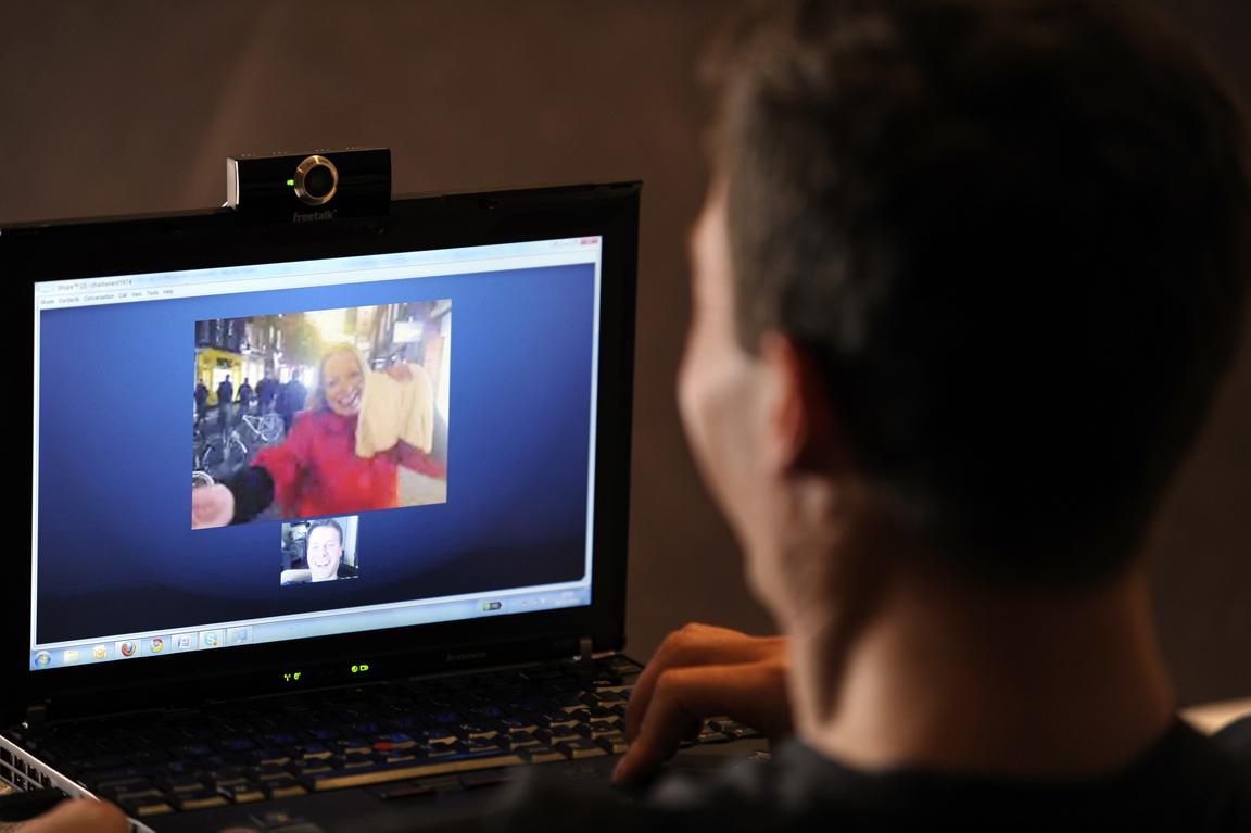 skype video call 2
