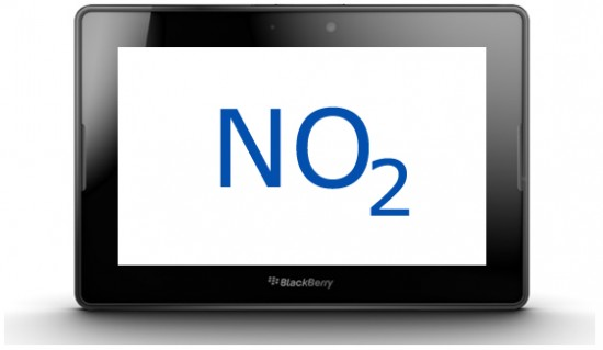 O2 Drop BlackBerry PlayBook