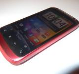 Red HTC Desire S Photo Shoot