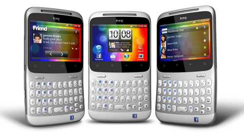 HTC ChaCha Facebook Phone Three