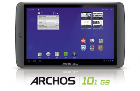 Archos reveal the G9 series of Tablets