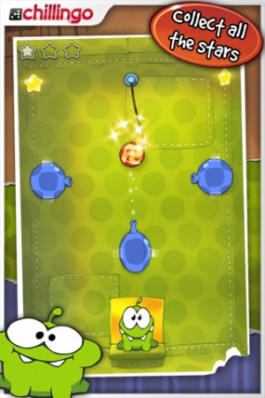 Cut the Rope now available on Android.