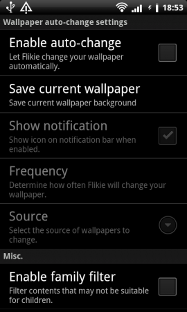 Coolsmartphone Recommended Android App   Flikie Wallpapers HD