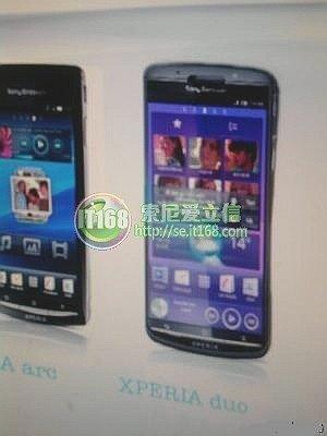 Sony Ericsson Duo Leaked?