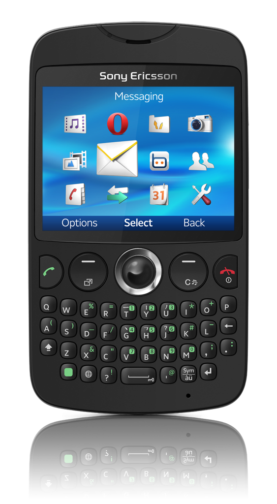 Announced   Sony Ericsson txt