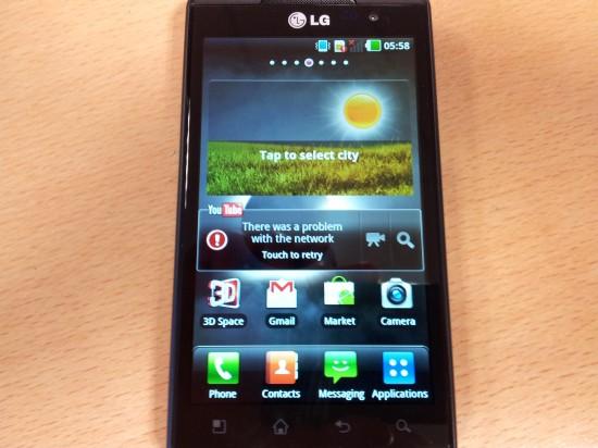 LG Optimus 3D Review