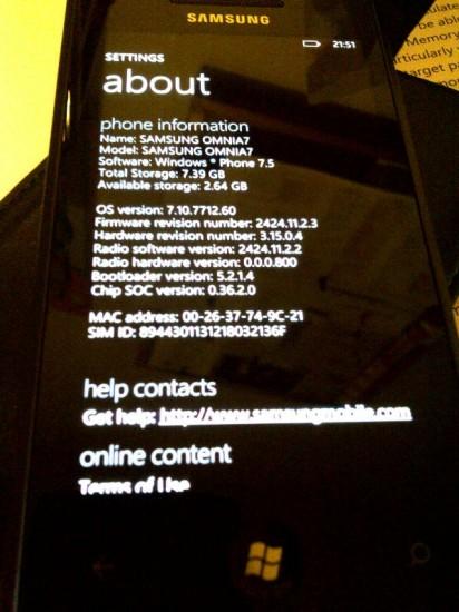 Windows Phone Build 7712 arrives for devs