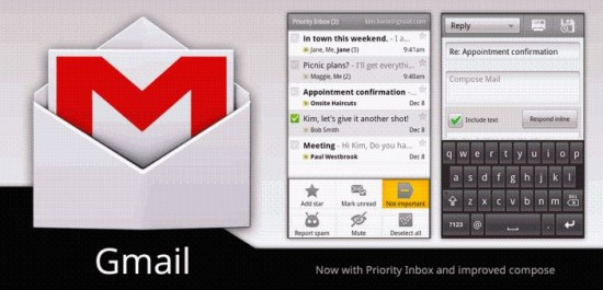 GMail Updated   Performance and possibly better battery life too