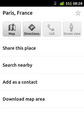 Google Maps for Android has a few new features.