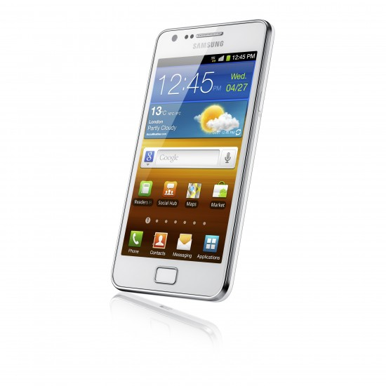 White Galaxy SII coming to Three