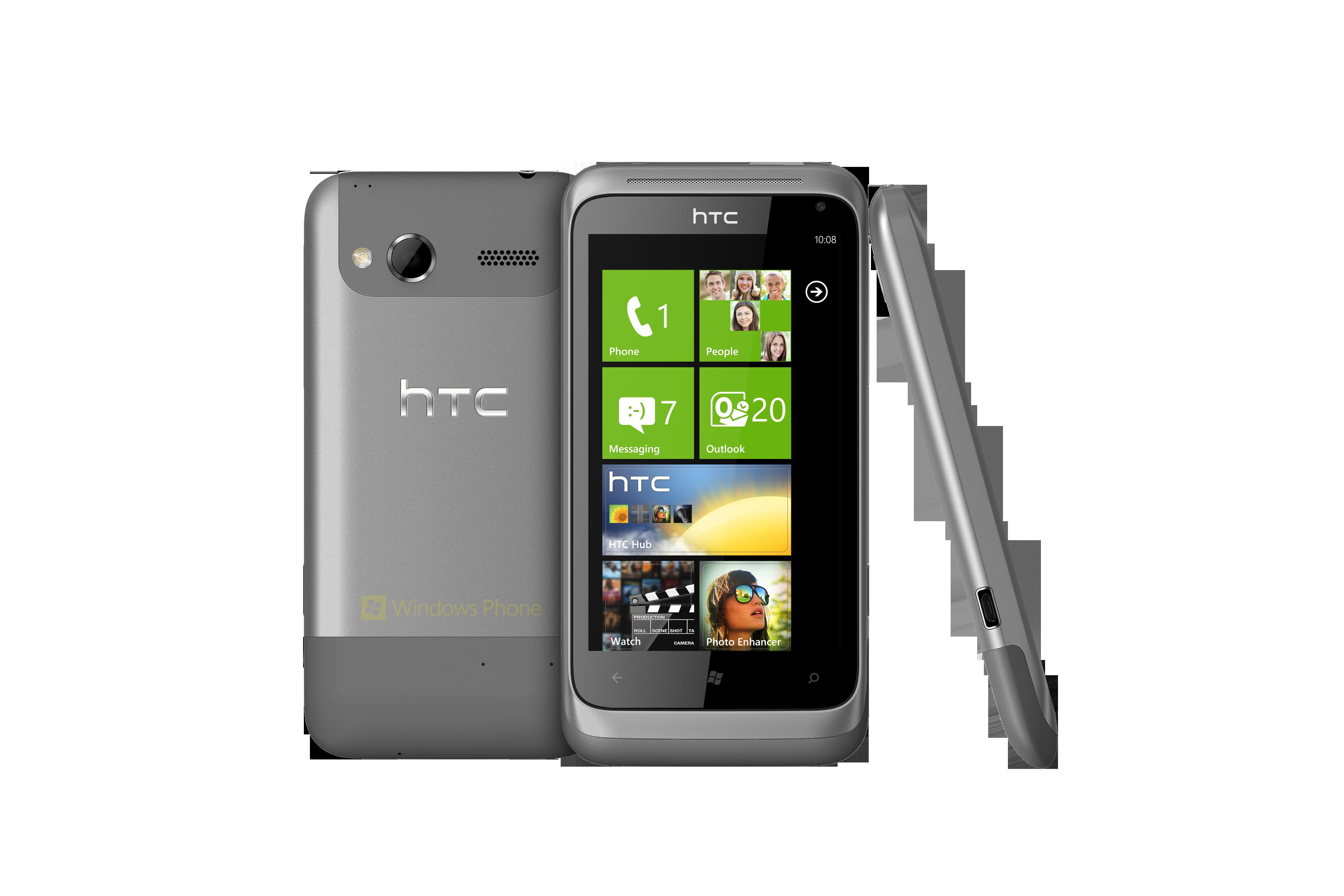 HTC Radar   3 views   Metal Grey