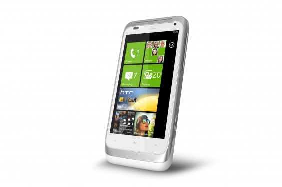 HTC Radar   front angle   Active White