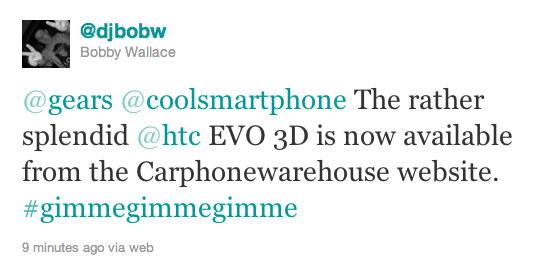 EVO 3D Lands At Carphone Warehouse