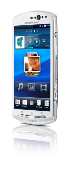 In detail   The Sony Ericsson Xperia neo V