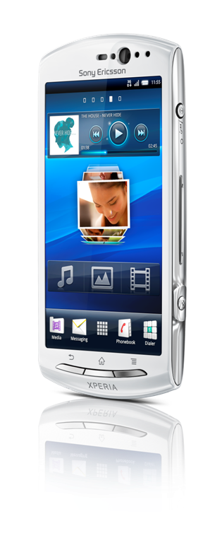 Xperia Neo_V_Front40_White_2 (Large) - Coolsmartphone