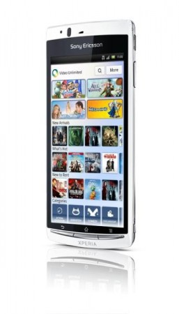 Sony Ericsson Arc S announced