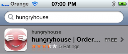 Hungry House for iPhone