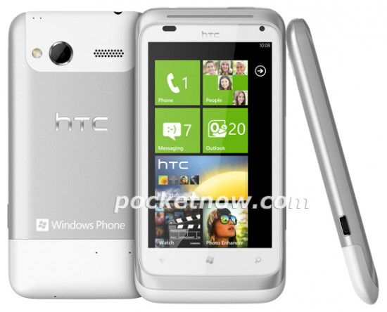 HTC Omega / HTC Radar images and rumoured specs