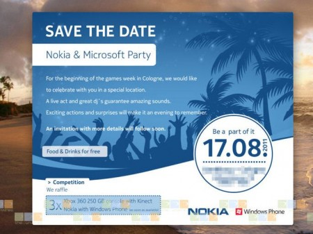 Nokia and Microsoft Party   Sea Ray Launch?