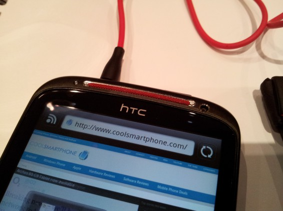 Hands on   HTC Sensation XE