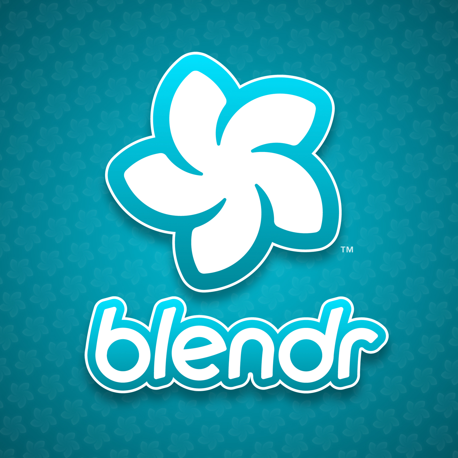 Blendr Logo   Background Pattern