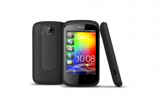 HTC Explorer 3v MetallicBlack