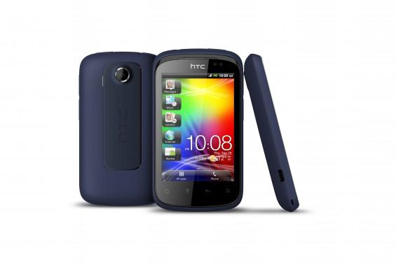 HTC Explorer 3v MetallicNavy
