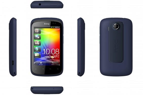 HTC Explorer 6v MetallicNavy