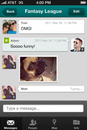 PingMe   Instant Messaging across Android, iPhone and BlackBerry