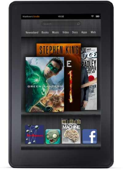 Amazon announces Kindle Fire