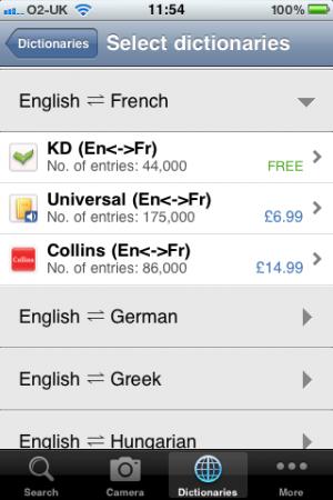 App Review   Lingvo Dictionaries