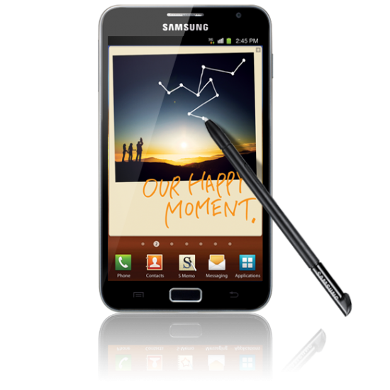 Even bigger   Samsung announce the Galaxy Note
