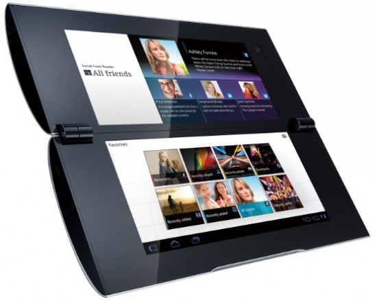 In detail   The Sony Tablet P