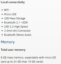 USB Mass Storage and microSD on Nokia Lumia handsets? (Update   Its gone now)
