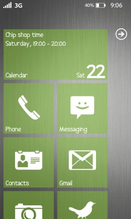 Do you wish your Android phone looked like a Windows Phone?
