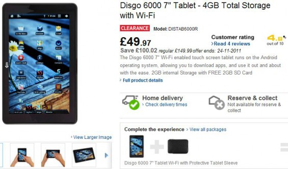 Fancy a cheap Android tablet?