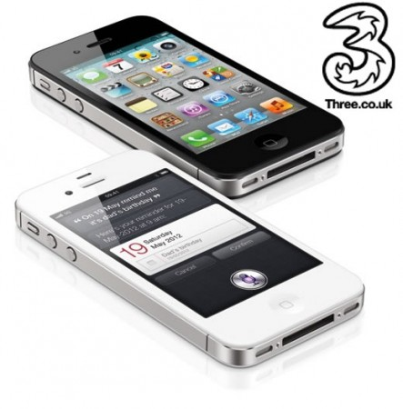 iPhone 4S pricing on Three revealed