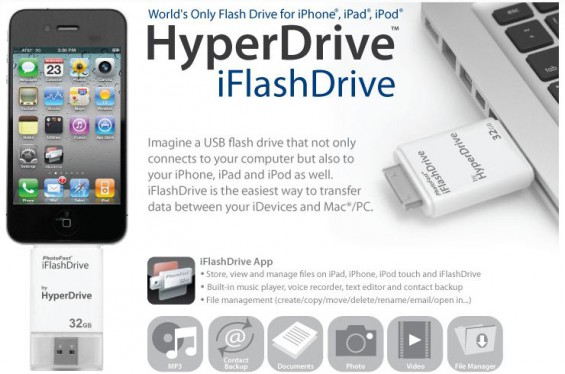 iFlashDrive iOS USB stick up for pre order