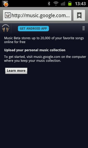 Music about to be available from Android Market too?