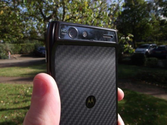 Motorola RAZR handled and priced