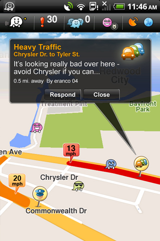 Navigate and stay informed with Waze