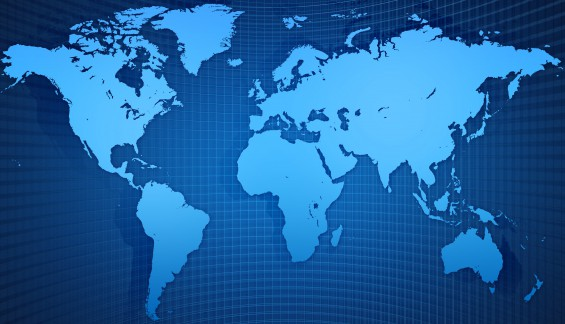 world map background Cropped