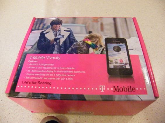 T Mobile Vivacity initial impressions.