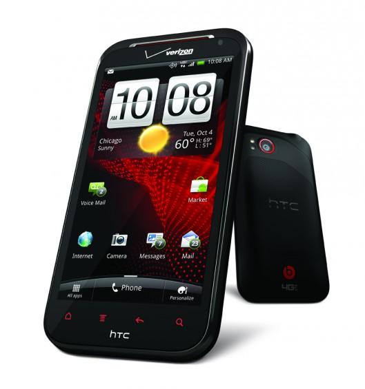 HTC Rezound Angled