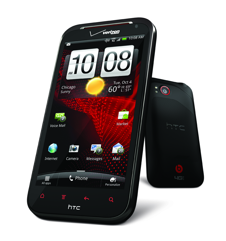 HTC Rezound launched with Beats inside