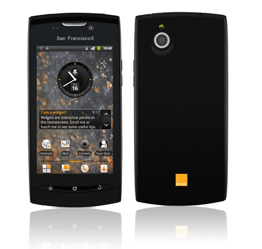 orange san fran 2 device