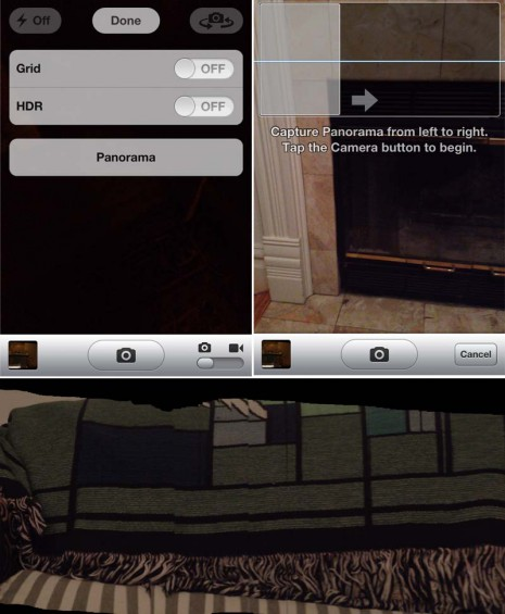 iPhone Panoramic Camera
